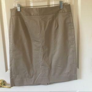 JCrew Khaki Skirt